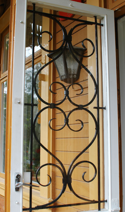 Galler balkongdörr